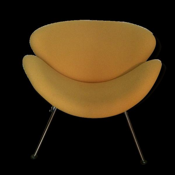 Selency Fauteuil Slice Chair de Pierre Paulin retapissé