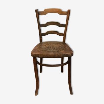 Chaise de bistrot Art nouveau