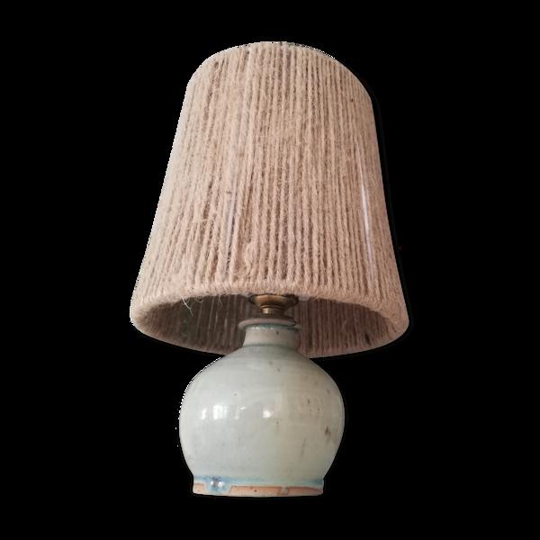 Lampe vintage céramique