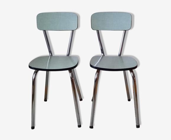 Lot de chaises formica