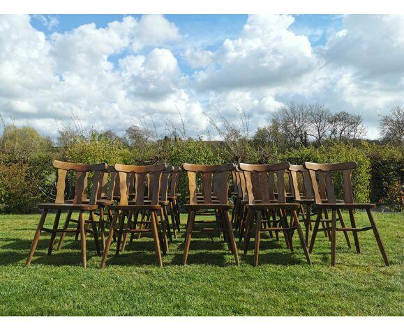 Lot de 20 chaises bistrot