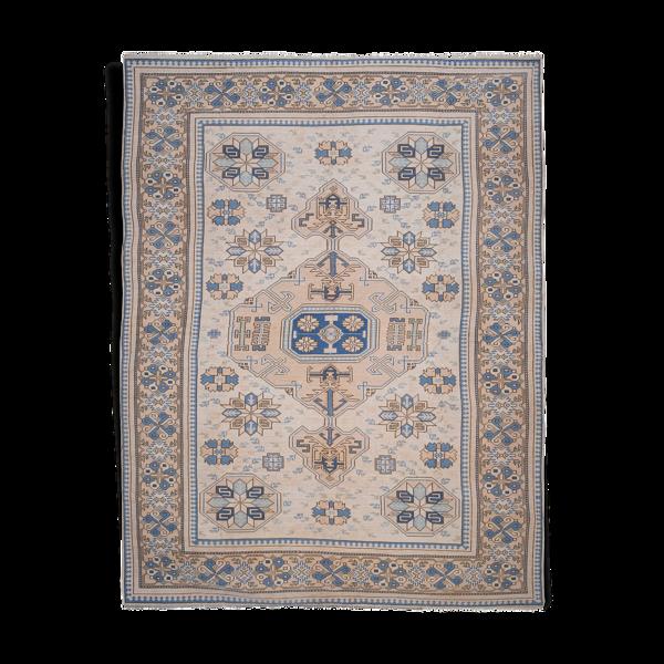 Turkish Oushak Wool Carpet, 1970s 260 x 340 cm