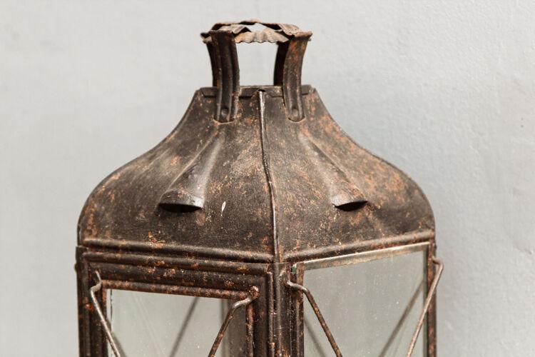 Ancient black lantern
