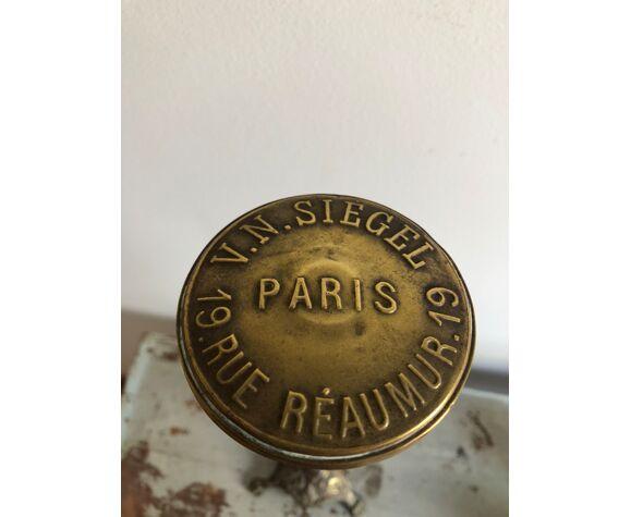 Présentoir porte chapeau ancien signé V.N Siegel Paris