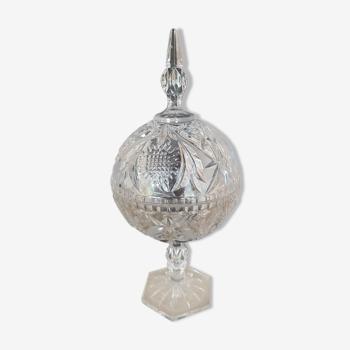 Bonbonnière  bocal cristal