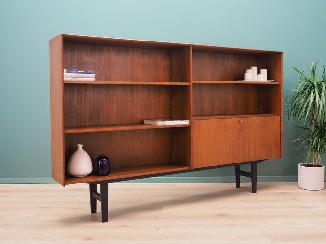 Bibliothèque, design danois, années 70, producteur: Vemb Møbelfabrik