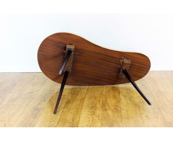 Table basse haricot
