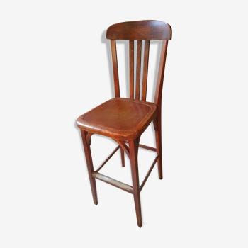 Chaise haute de caissier