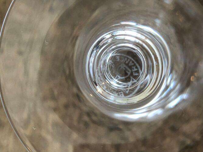 Set de 3 verres en cristal Baccarat