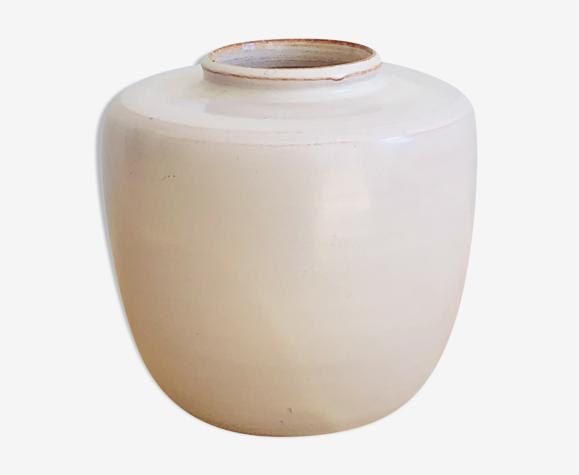 Vase en terre cuite émaillée H10cm