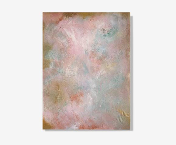 Les Nuées II - Tableau d'art abstrait