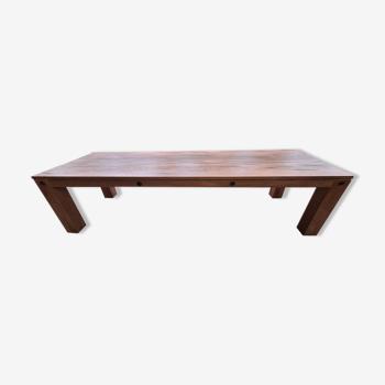Table en chêne 3m
