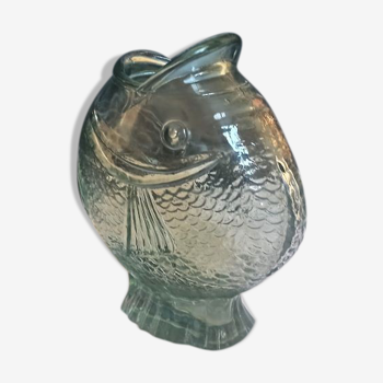 Vase poisson années 50