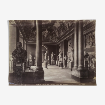 Photo 1900 du Musée du Louvre, Ed Helaine