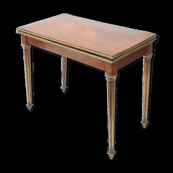 Table à jeu de style Louis XVI