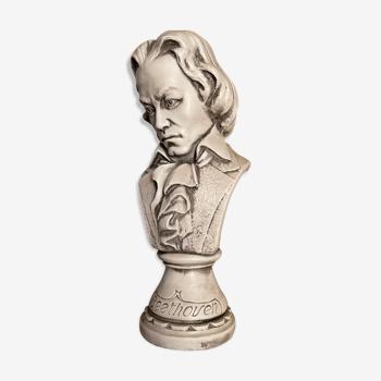 Tête en pierre Beethoven A.Garcia