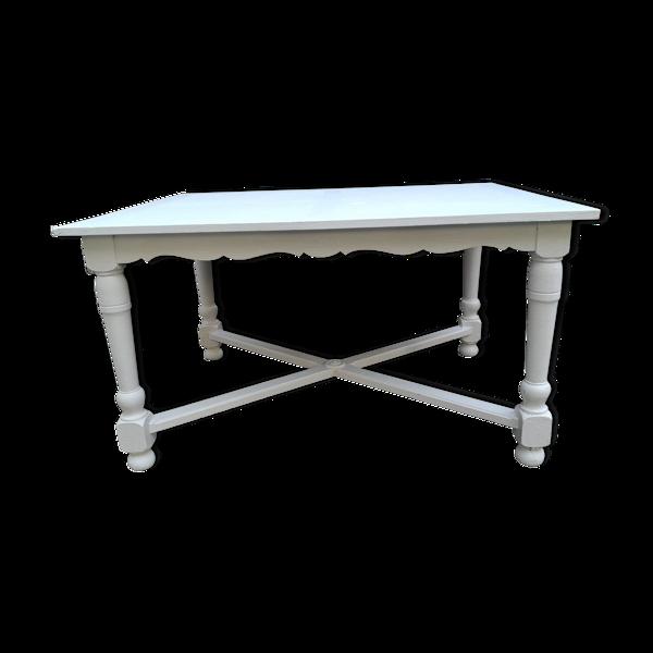 Selency Table rectangulaire chêne vers 1950