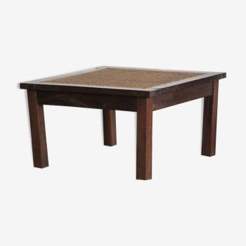 Table basse cannée