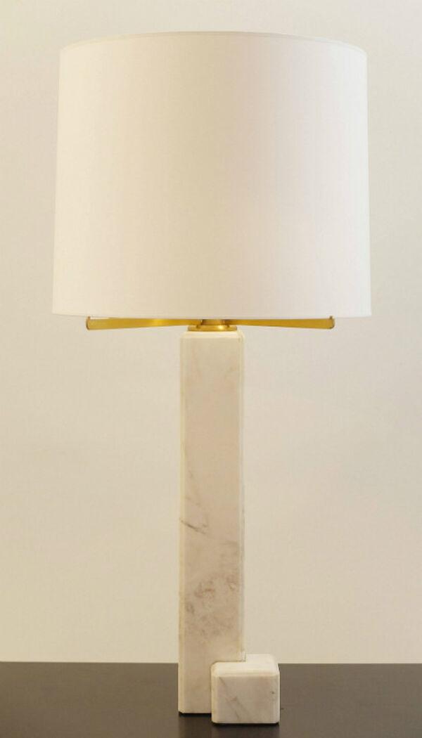 Lampe en marbre belges, de Jan Vlug