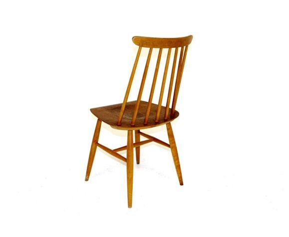 """Chaise à barreaux """"Pinnstol"""", Suède, 1960"""