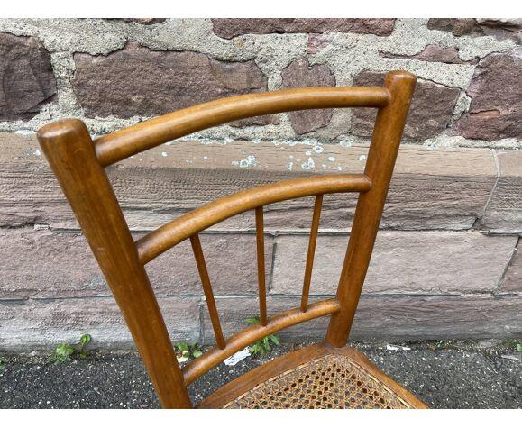 Paire de chaises viennoises bistrot Bois courbé