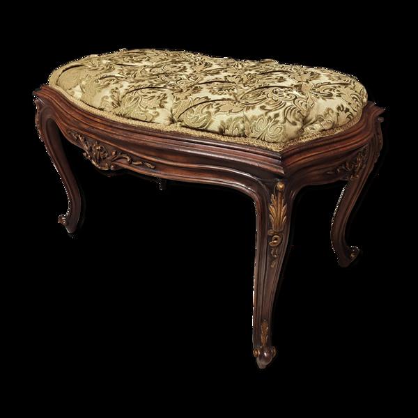 Selency Banquette de piano style Louis XV