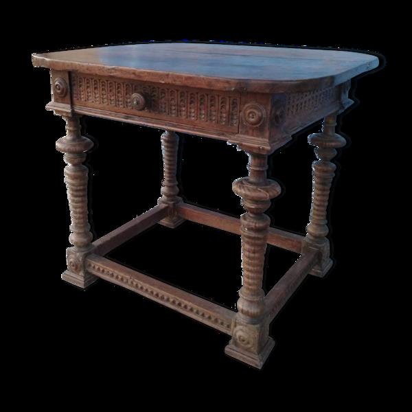 Selency Table avec tiroir