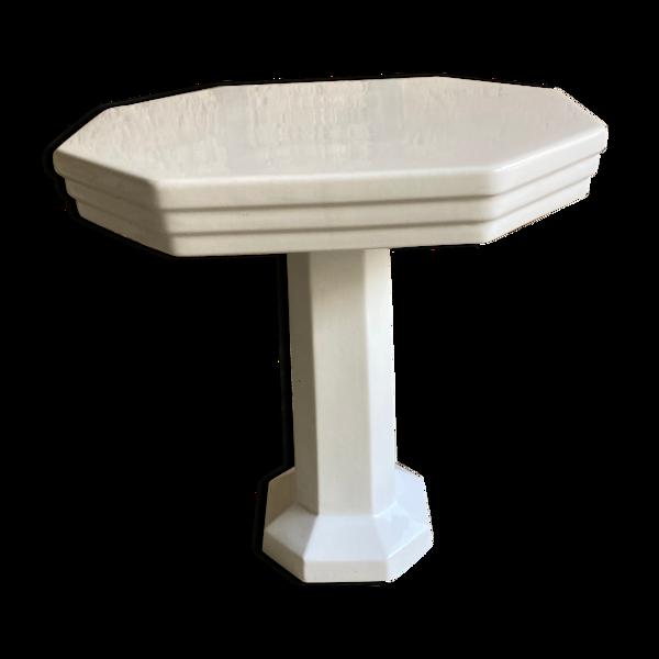 Table de toilette en céramique