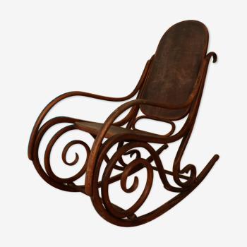 Rocking chair du 19 ème