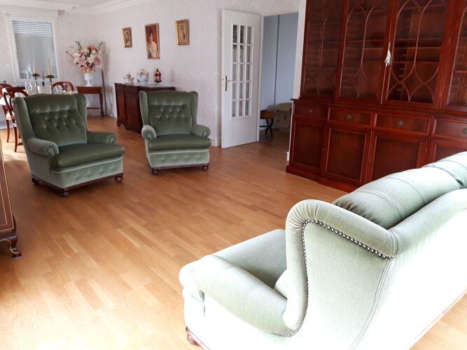 Canapé 3 places et 2 fauteuils de style anglais