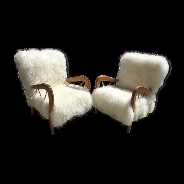 Paire de fauteuils Paolo Buffa