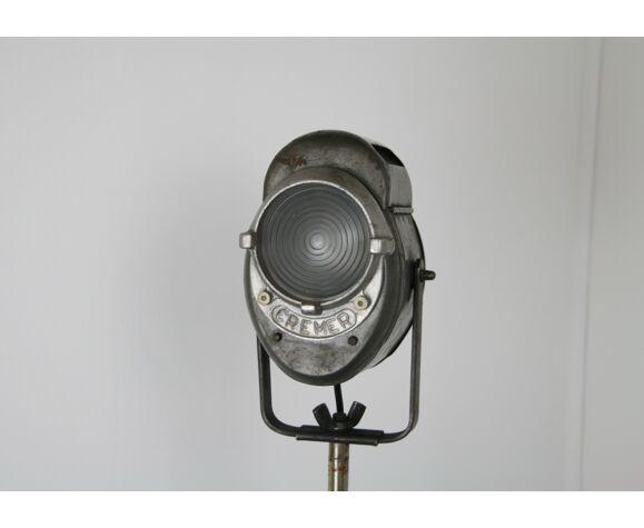 Projecteur de théâtre Cremer 8 cm vintage Industriel en parfait état