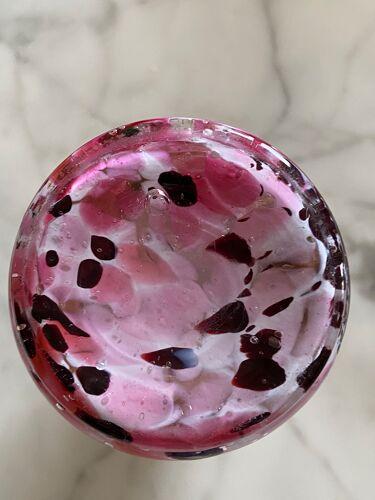 Vase en verre coloré de Clichy