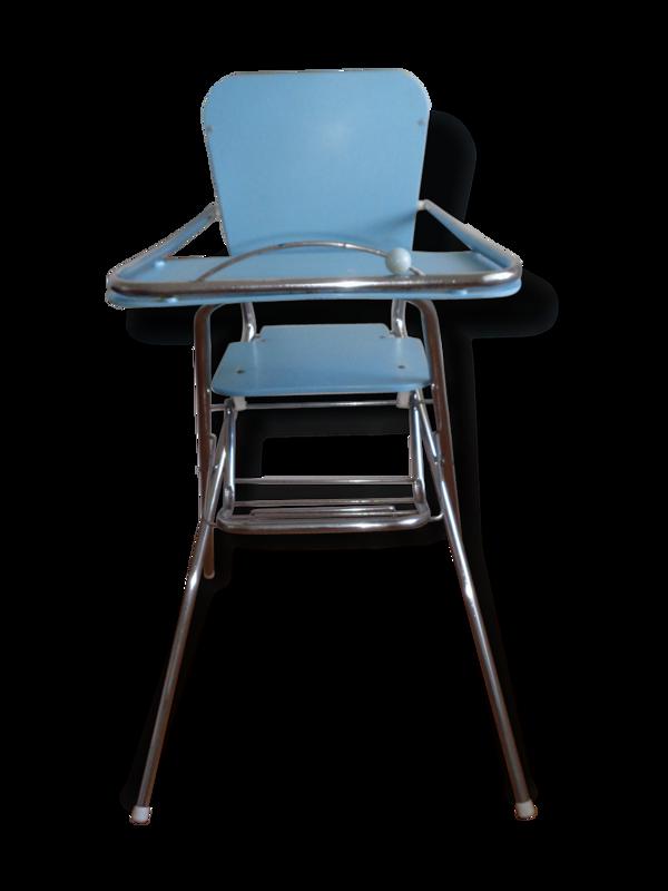 Jolie chaise haute bébé