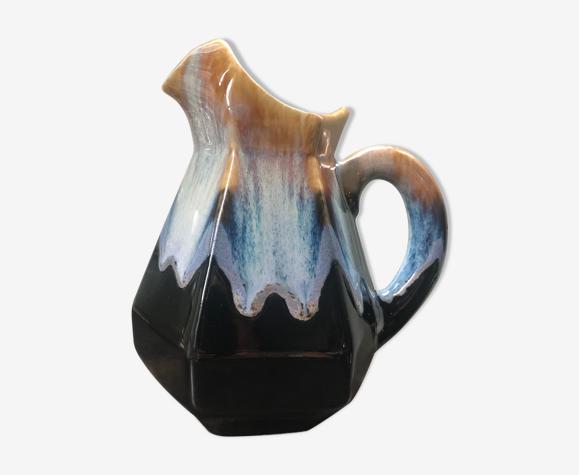 Pichet en céramique émaillé