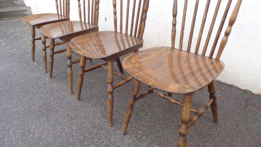 Set de 4 chaises Baumann tacoma
