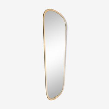 Miroir vintage années 1960 40x79cm