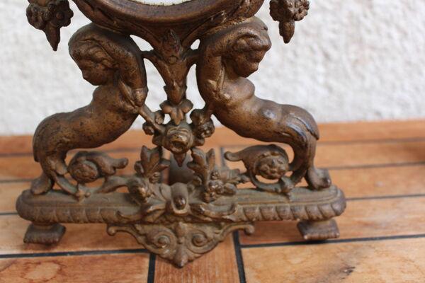 Pendule de salon style Louis XV