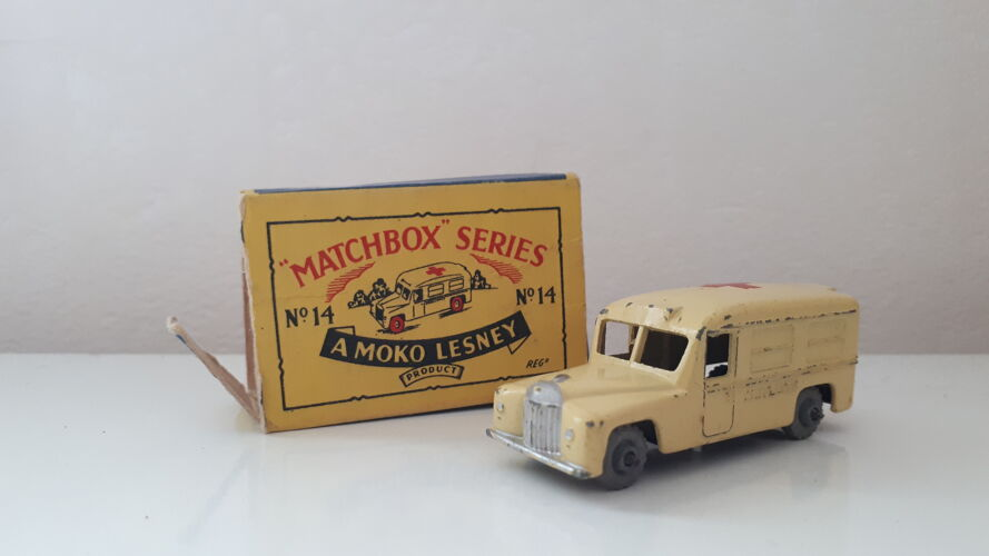 Matchbox series n°14  a moko lesney