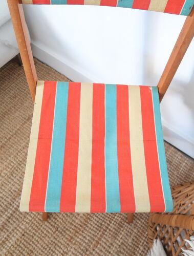 Chaise pliante en toile