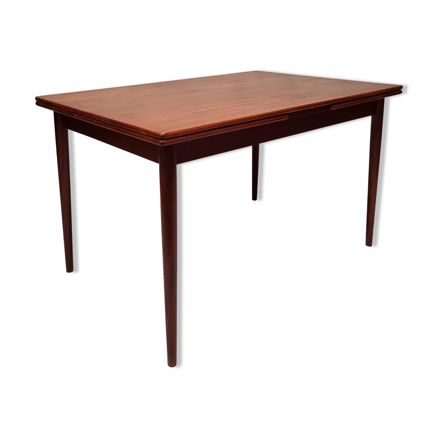 Table de salle a manger de Willy sigh - sigh & son mobelfabrik- teck - ca 1960