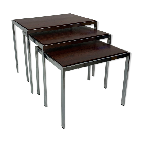 Selency Ensemble de tables gigognes, années 1960