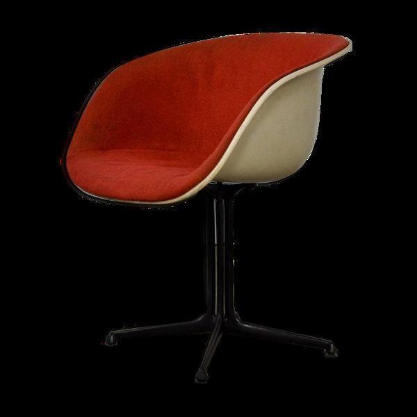 Chaise shell la fonda par Charles & Ray Eames par Herman Miller 1960