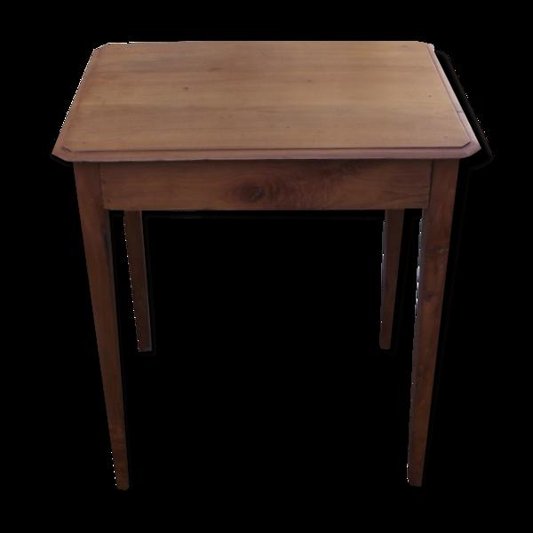 Table à écrire en merisier