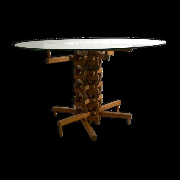 Selency Table de salle à manger constructiviste
