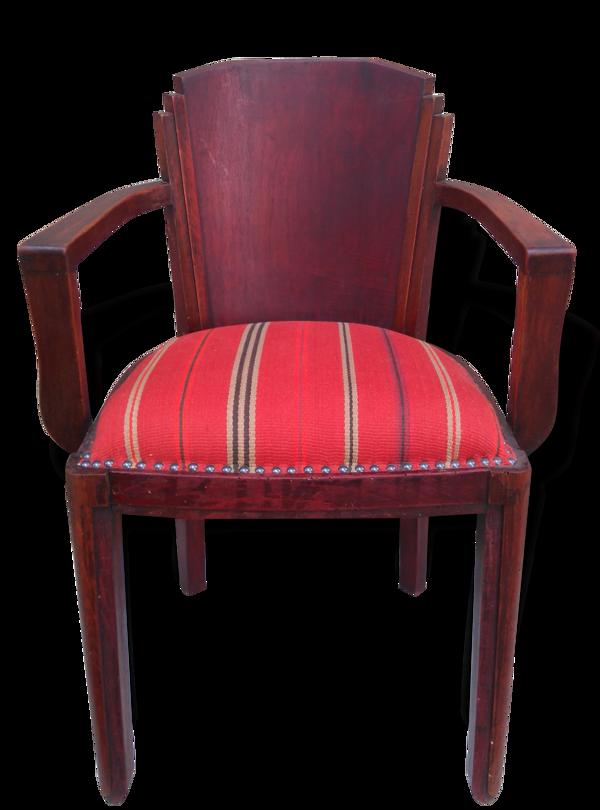 Fauteuil-chaise art déco