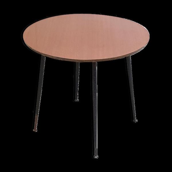 Table d'appoint en formica 1960 vintage