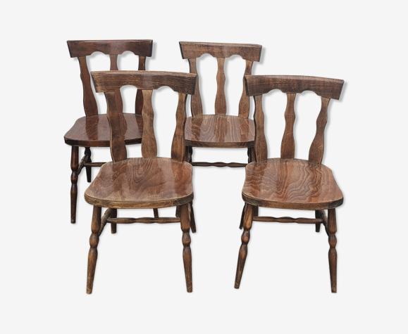 4 chaises baumann modèle louisiane