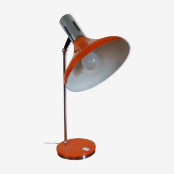 Lampe cocotte orange