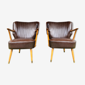 Pair of cocktail chairs 50'